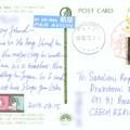 Postcrossing, Japonsko, Tokyo, učitelka z south-western China