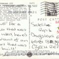 Postcrossing, USA, Terminal City New York International Airport, Lisa