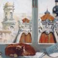 Postcrossing, Rusko, Petrohrad, Nastya